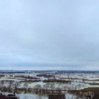 A Winter View For Biebrza & Narew Rivers