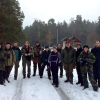 Woodcraft School Group In The Białowieża Forest