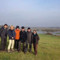 Our Happy Group From Belgium In The Biebrza Marshes