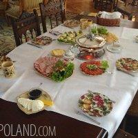 Our Usual Plentiful Breakfast In The Białowieża Forest