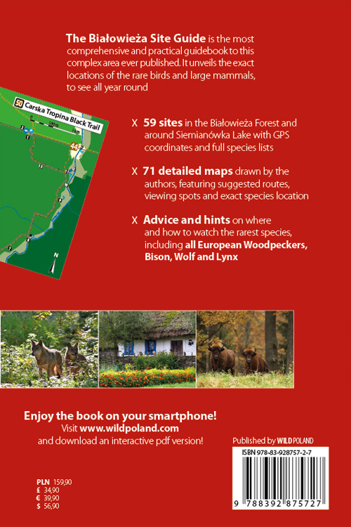 Białowieża Site Guide back cover