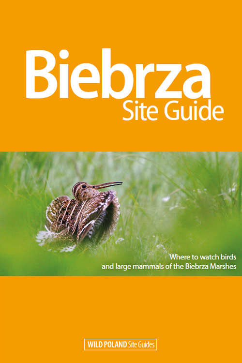 Biebrza Site Guide Front Cover