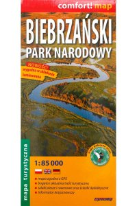 Biebrza Marshes Laminated Map