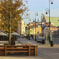 In the Warsaw old town
