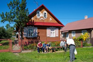 In one of the Ruthenian villages