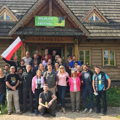 Wild Poland Wildlife Watchigng Festival 2017 Core Group