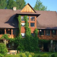Our lodge in the Beskid Niski Mts