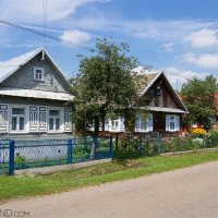 Traditional Ruthenian Village In The Eastern Poland