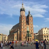 St. Mary's Church in Kraków old town