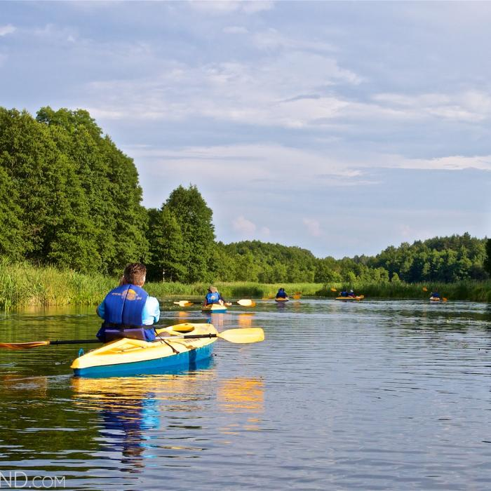 Kayaking On The Czarna Hańcza River, Wigry National Park