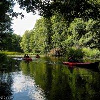 Kayaking On The Czarna Hańcza River, Wigry National Park