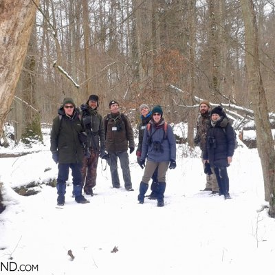 Our Group In The Strict Protection Area Of The Białowieża National Park, Photo By Piotr Dębowski