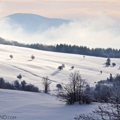 Mists Rising From The Snow In The Eastern Carpathians. Photo By Lukasz Mazurek