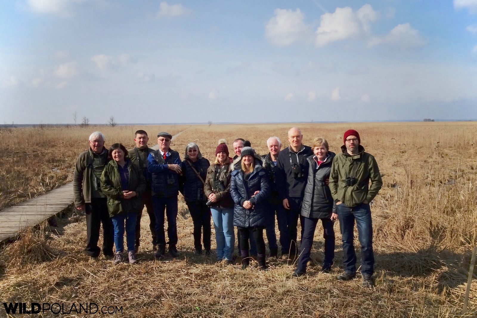 Wild Poland group at the Biebrza Marshes