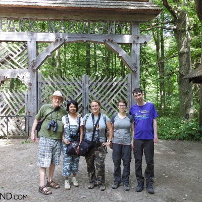 UNESCO Site Walk, Happy Wild Poland Group In The Białowieża Forest National Park