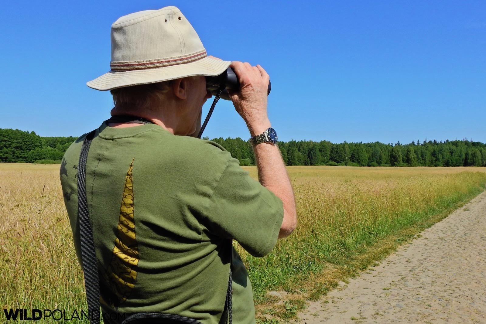 binoculars always at hand