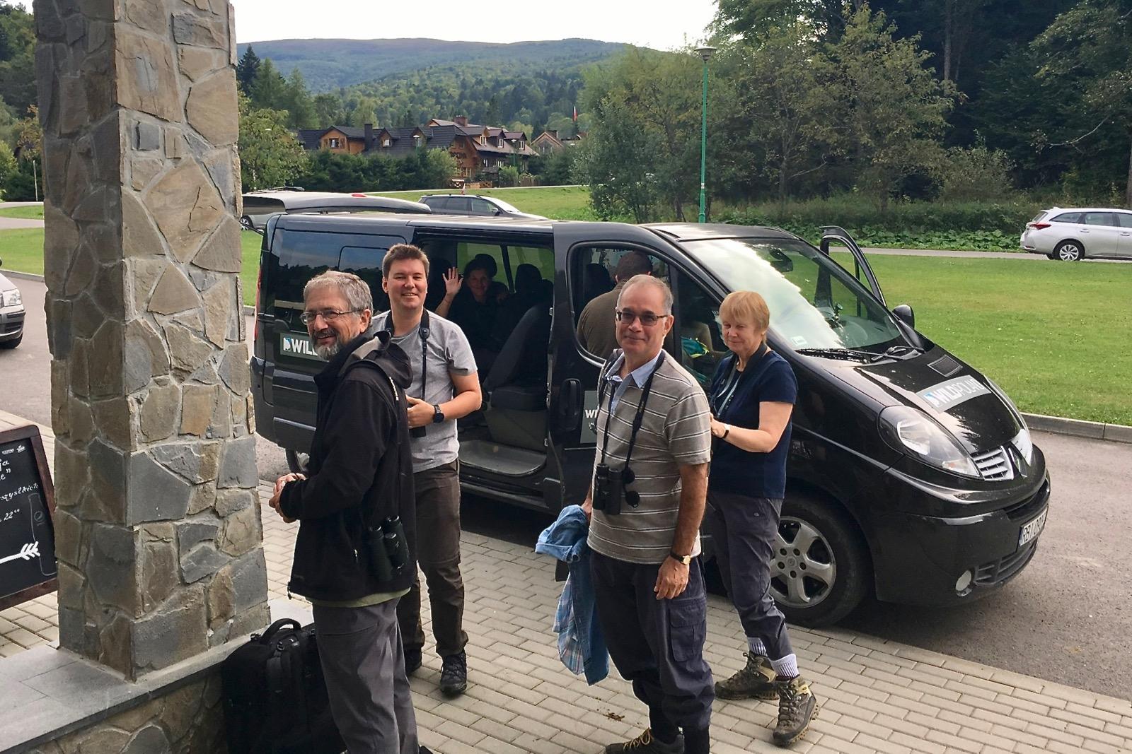 Summer Wildlife Festival Group in the Bieszczady Mts, Eastern Carpathians