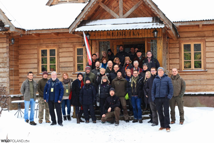 Wild Poland Winter Wildlife Festival 2019 Group
