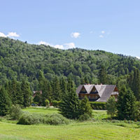 One of our guesthouses in the Bieszczady Mts