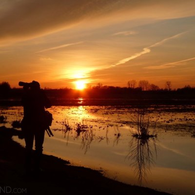 Sunset Over The Biebrza Marshes, Photo By Liz Copeland