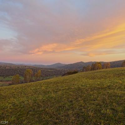 At Dawn In The Eastern Carpathians